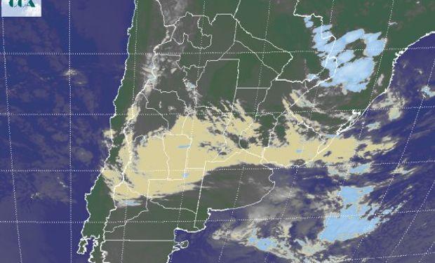 Las coberturas de nubes bajas seguirán complicando con ambiente húmedo en superficie el normal avance de cosecha