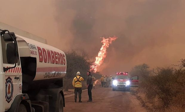 El fuego no cesa: crece el número de incendios en el Delta del Paraná y en Córdoba