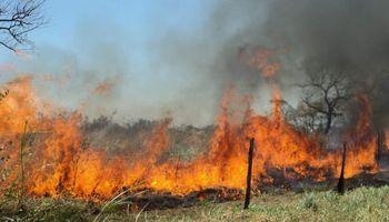 Recomendaciones para trabajar en zonas donde se duplicó el área de riesgo de incendios