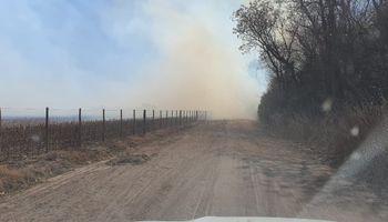 Investigan un nuevo incendio en el campo del vicepresidente de Confederaciones Rurales Argentinas