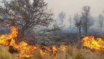 El incendio de Mina Clavero está controlado pero sigue el combate en Las Palmas