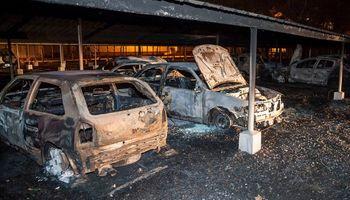 """Incendio en Dreyfus: """"Fue un hecho vandálico"""""""