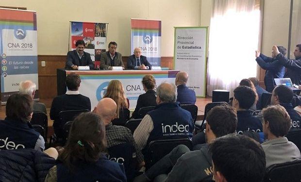 Presentación de la prueba piloto a cargo de Jorge Todesca y Leonardo Sarquís, en Lobos provincia de Buenos Aires.
