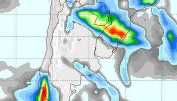 Lluvias sobre el norte, inestable en el sur pamepano
