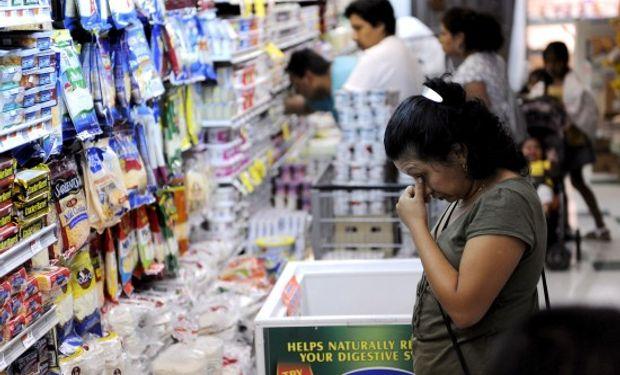 En particular, para el Indec el aumento en los alimentos fue de 1,1 por ciento, el más alto del trimestre.