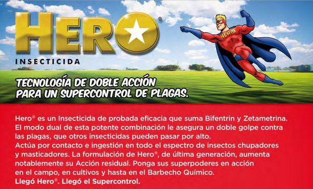 FMC cuenta con HERO®, un insecticida piretroide de doble acción