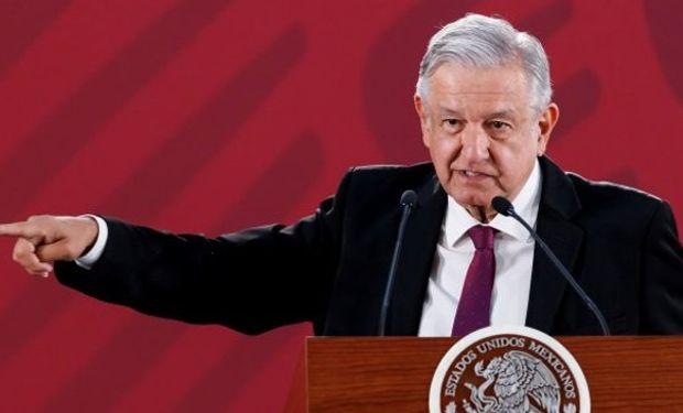 El presidente de México se refirió al conflicto con Estados Unidos.