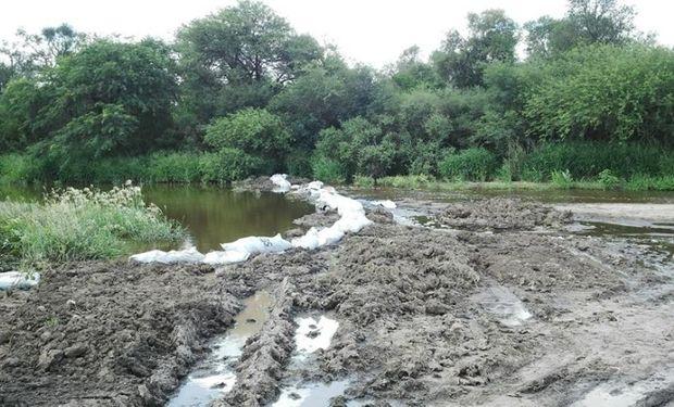 El exceso de lluvias compromete la ganadería y la agricultura. Foto: Hernán Muchut.