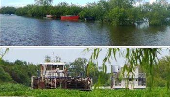 Situación de las islas ante la crecida extraordinaria del río Paraná