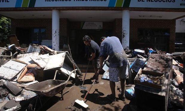 Las imágenes de las localidades más afectadas muestran la fuerza del temporal que azotó a Córdoba durante el fin de semana.