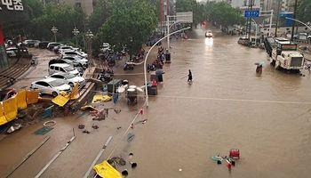 Una lluvia inédita en 1000 años deja varios muertos en China