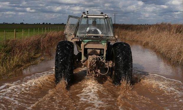 Se agrava la situación por las inundaciones en Córdoba, campos tapados por el agua y pueblos que se unden / Fuente:LA NACION - Creditos:Diego Lima