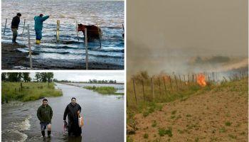 Los 10 números detrás de los incendios e inundaciones