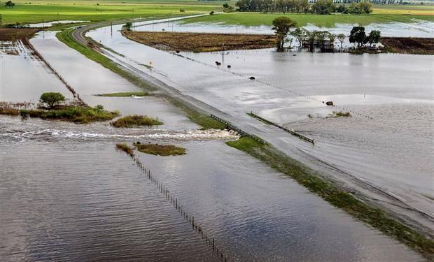 Santa Fe fue una de las provincias afectadas por las inundaciones.