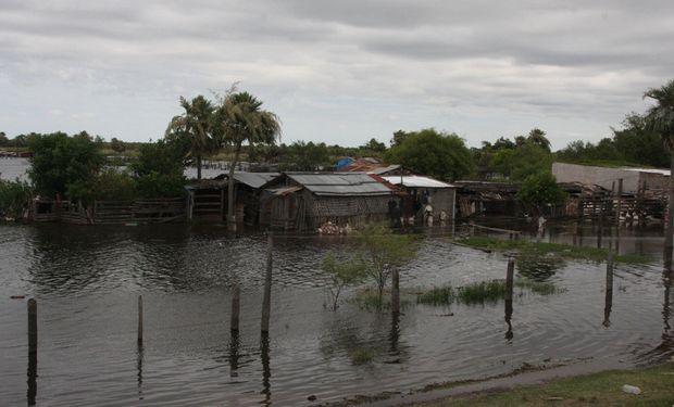 Inundaciones en Chaco.