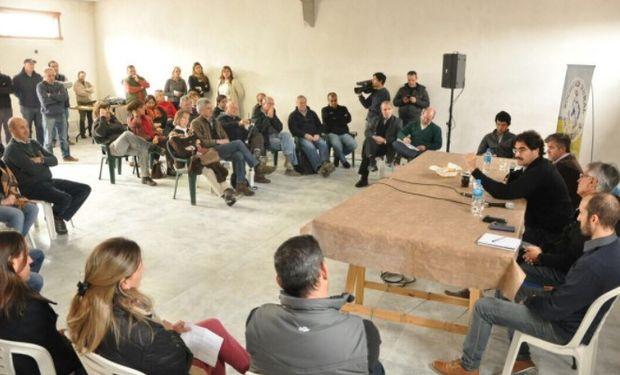 """""""Tenemos en promedio el triple de precipitaciones en una parte de la Provincia"""", destacó el Ministro de Agroindustria bonaerense, Leonardo Sarquís."""