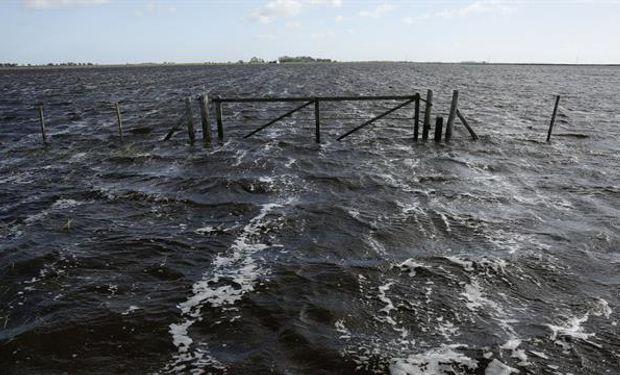 Inundaciones en la provincia de Buenos Aires. Foto: LA NACION / Mauro V. Rizzi