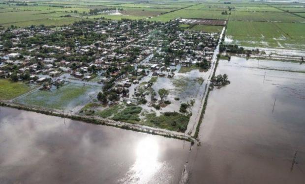 El impacto sobre la zona agrícola es devastador.
