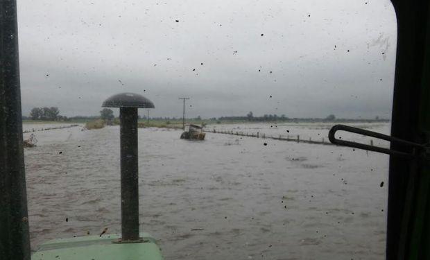 Coninagro visitó las zonas inundadas de Santa Fe y Córdoba.