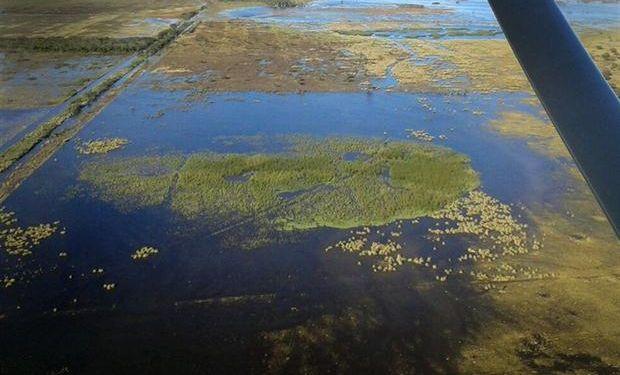Los productores reclaman obras hídricas.