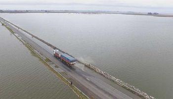 La inundación no cede: hay unas 50.000 hectáreas anegadas en el sudeste cordobés