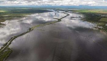 Inundaciones: la mitad del Fondo Hídrico es para zonas rurales