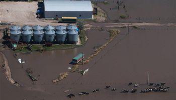 Córdoba y Santa Fe anegados por inundaciones