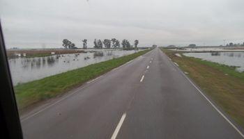 Crítica situación en Henderson y Bolívar por las lluvias