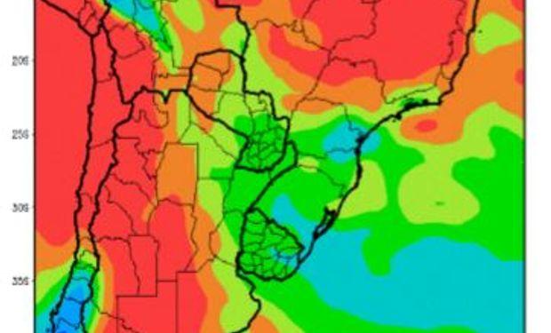 Precipitaciones previstas para lo que resta del invierno.