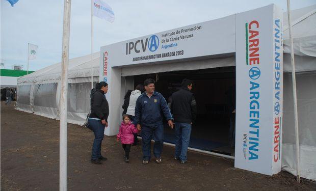 El IPCVA va a tener una presencia similar a la de los años anteriores, con una gran carpa institucional. Foto de archivo.