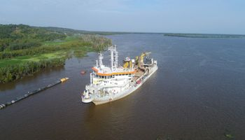 Cosecha: refuerzan el dragado frente a una nueva bajante extraordinaria del Paraná