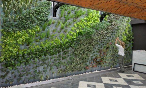 Paisajismo en la ciudad: espacios verdes suspendidos en el aire.