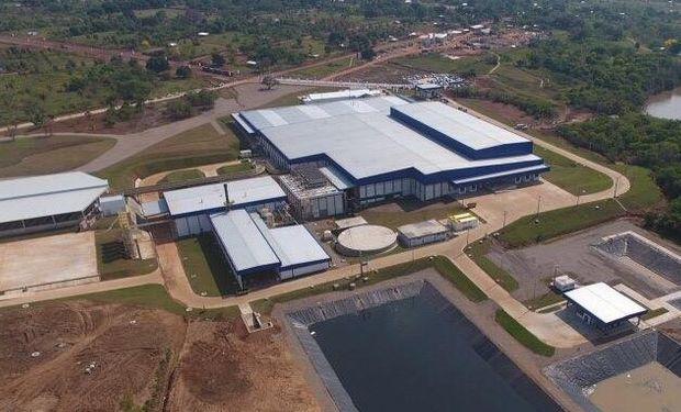 Planta industrial de JBS en Belén (Paraguay).
