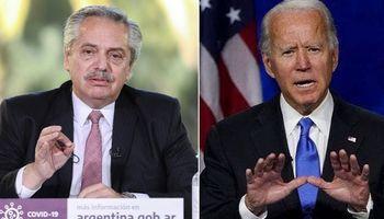 Joe Biden habló con Fernández y destacó que va a ayudar a América Latina en la recuperación económica