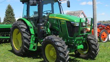 John Deere comenzó la fabricación de los tractores 6E en Argentina
