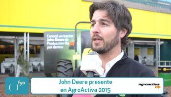John Deere es tecnología, innovación y capacitación