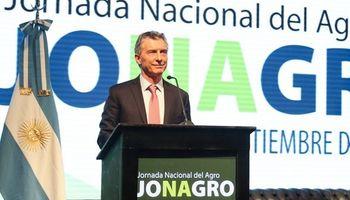 Macri resaltó la importancia del campo y llamó a dar pelea en esta situación