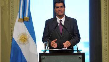 Cristina desplazó a Jorge Capitanich de la Jefatura de Gabinete y designó a Aníbal Fernández