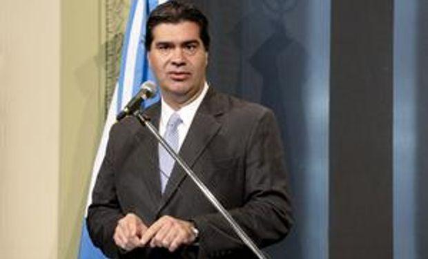 Capitanich dice que el Gobierno no analiza una intervención en la comercialización de granos
