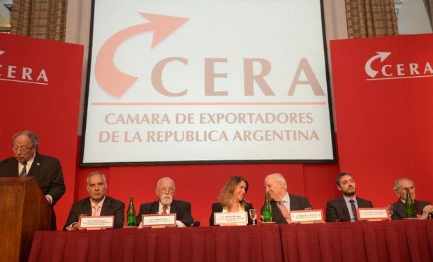 Jornada en la Cámara de Exportadores de la República Argentina.