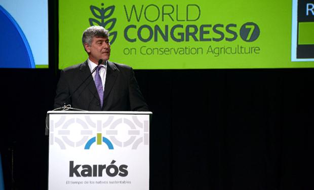 El ministro Ricardo Buryaile participó en Rosario de la apertura de #kairos.