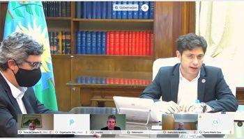 """El Consejo Agroindustrial le mostró a Kicillof la """"hoja de ruta"""" que acordó con el gobierno nacional"""