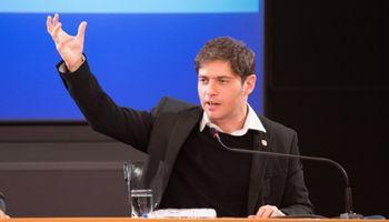 Kicillof habló como candidato y lanzó elogios para el campo