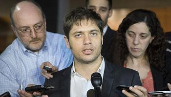 Axel Kicillof ya está reunido con el mediador Daniel Pollack
