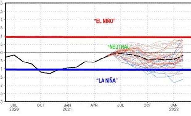 """Perspectiva climática: los """"riesgos"""" para la nueva campaña y la lluvia que se espera mes por mes"""