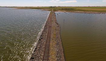 La Línea San Martín podrá volver a circular por la laguna La Picasa