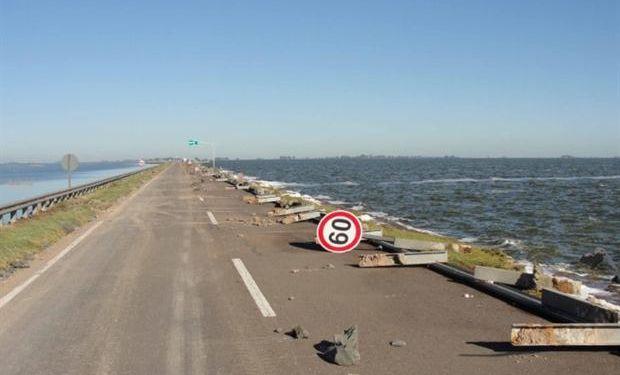 La ruta muestra un deterioro en su tramo donde está cortada. Foto: Comité de Cuenca La Picasa