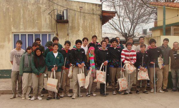 En el mes de junio, los alumnos de cuarto y quinto año de la escuela de Labordeboy resultaron ganadores.
