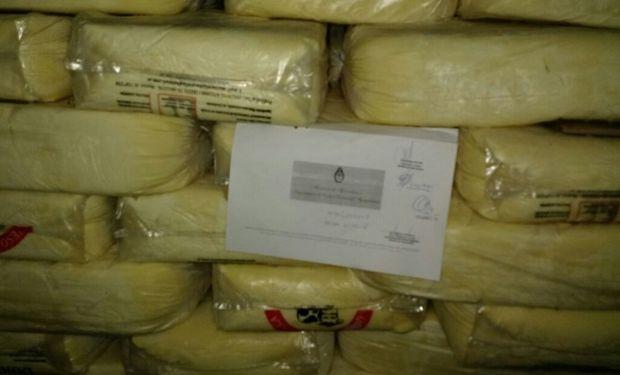 En la provincia de Buenos Aires retienen 12.000 kg. de productos lácteos de firmas no registradas.