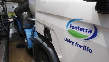 Fonterra: lácteos retoman camino descendente